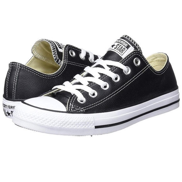 3d55af3e32dce2 Leather Converse Chuck Taylor Low Top All Star